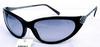 流线型黑框眼镜