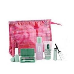 倩碧五件套+粉色包包