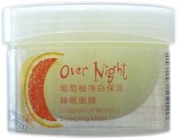 景天丽雪葡萄柚净白保湿睡眠面膜