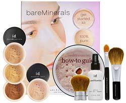 贝茗I.D.bareMinerals Get Starter Kit矿物质彩妆超值豪华套装
