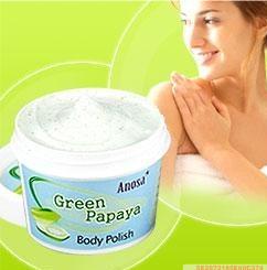 Anosa青木瓜牛奶身体嫩白去角质果冻