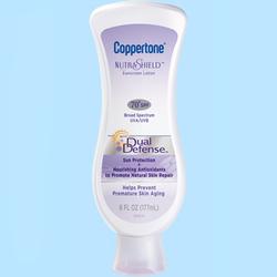 Coppertone水宝宝双重防护抗皱防晒霜SPF30+(SPF70)