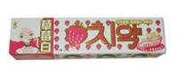 可东爱西JIAI草莓白牙膏
