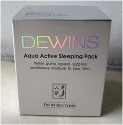 DEWINS水分精华睡眠面膜