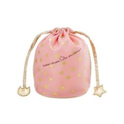 植村秀粉色丝绸化妆包