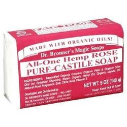 Dr. Bronner's神奇有机精油橄榄皂(玫瑰味)