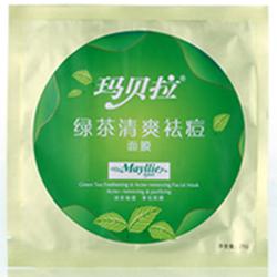 玛贝拉绿茶清爽祛痘面膜