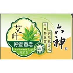 六神艾叶除菌香皂(清凉型)