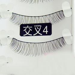 【其他】台湾进口手工假睫毛(交叉4)