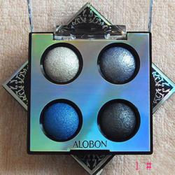 雅邦陶瓷四色眼影烤粉