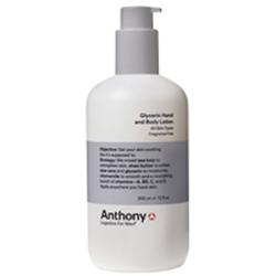 安东尼男士甘油手部身体护肤乳