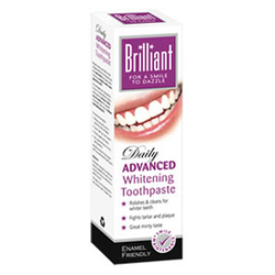 Brilliant高级美白牙膏