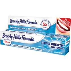 Beverly Hills Formula自然白牙膏蓝装