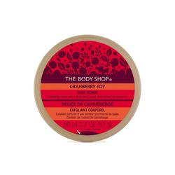 美体小铺蔓越莓身体磨砂膏