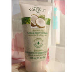 Inecto100%椰子油成份润滑大腿和身体深层磨砂乳