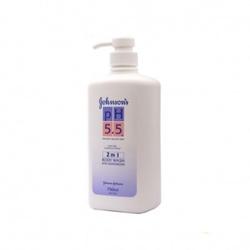 强生PH5.5 2合1润肤乳沐浴露
