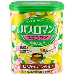 巴斯洛漫护肤系列蜂蜜柠檬浴盐