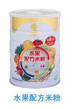 贝智康水果配方米粉