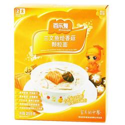 百乐麦三文鱼烩香菇颗粒面