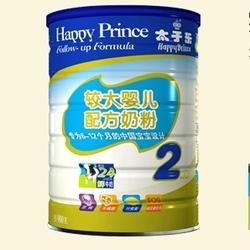 太子乐较大婴儿配方奶粉2段