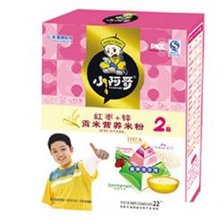 小阿哥红枣加锌贡米营养米粉