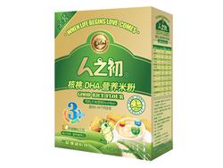 人之初核桃DHA营养米粉