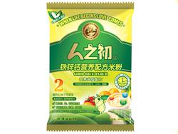 人之初铁锌钙营养配方米粉
