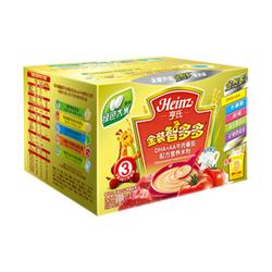 亨氏金装智多多DHA+AA牛肉番茄配方营养米粉
