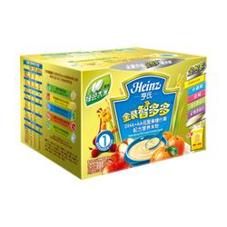 亨氏金装智多多DHA+AA低聚果糖什果配方营养米粉