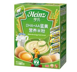 亨氏DHA+AA蛋黄营养米粉