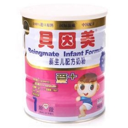 贝因美爱+新生儿配方奶粉