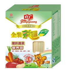 方广猪肝蔬菜营养面