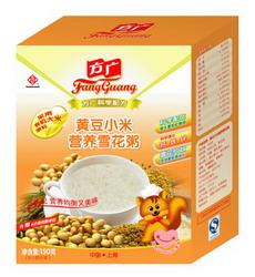 方广黄豆小米营养雪花粥