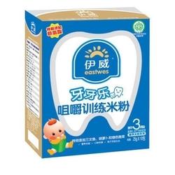 伊威牙牙乐咀嚼训练营养米粉