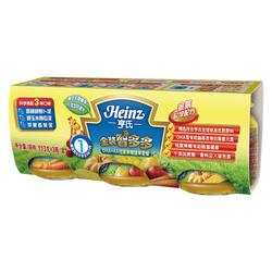 亨氏金装DHA+AA低聚果糖蔬果套餐