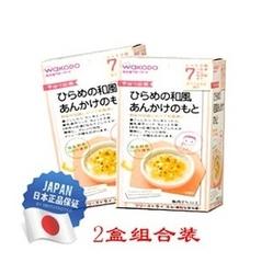 WAKODO日式比目鱼蔬菜粥面拌料