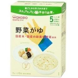 WAKODO婴儿蔬菜米粥