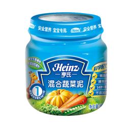 亨氏混合蔬菜泥