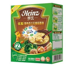 亨氏优加营养西兰花香菇面条