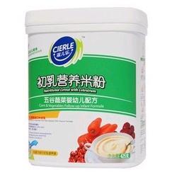 滋儿乐2段五谷蔬菜初乳营养米粉
