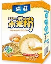 嘉滋双歧因子蛋黄小米粉