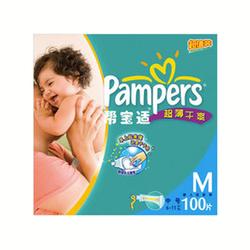 帮宝适超薄干爽纸尿裤M100片