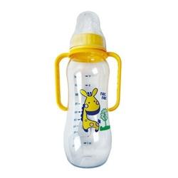宝贝可爱标准带握把奶瓶