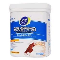 滋儿乐1段淮山+奶初乳营养米粉