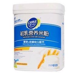 滋儿乐1段麦芽+奶初乳营养米粉