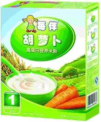 每伴胡萝卜营养米粉