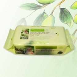 婴儿茶树油清洁柔湿巾