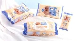 欧润芙婴儿柔和洁肤巾