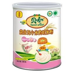 贝兜益生元小米有机米粉