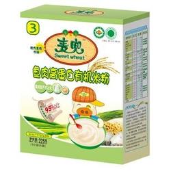贝兜鱼肉高蛋白有机米粉